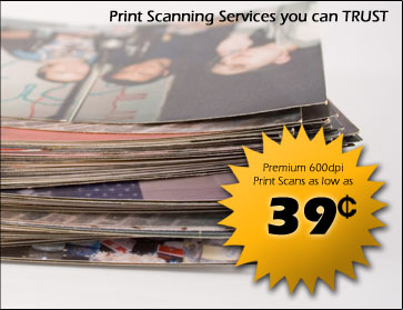 Print Scanning Services you can Trust.