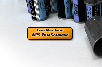 APS Film Cartridges converted into digital photos. Click to Learn More about our APS / Advantix Film Scanning Service
